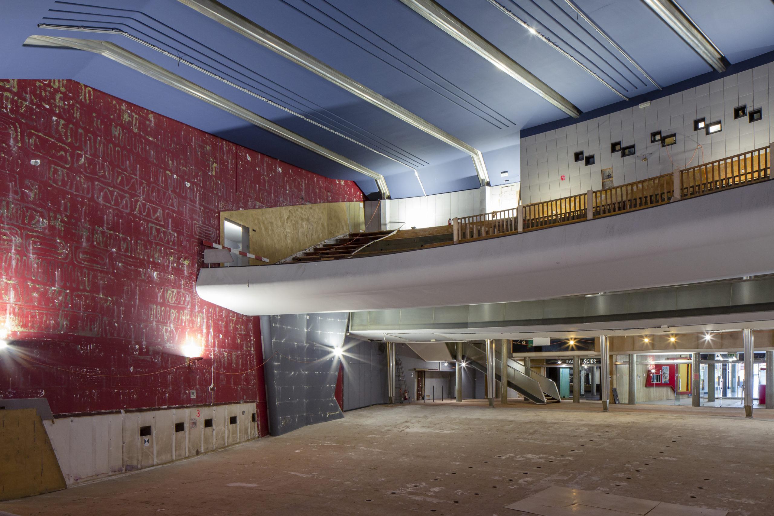 Rénovation salle le Plaza Genève